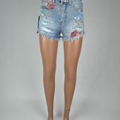 Шорты мом джинсовые женские Miss bonbon 6187, в наличии s, m