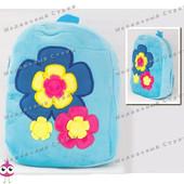 "Детский рюкзак ""Цветы"" MP 1243, на молнии, 25х20х7см"