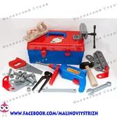 Набор инструментов в чемодане, дрель молоток пила рубанок клещи, orion 938
