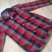 Tоmmi Hilfiger стильная модная рубашка
