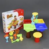 Столик игровой для песка и воды + стульчик 9829