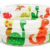 Детский бассейн Динозавры Intex 57106