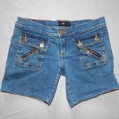 р. 152-158-164, джинсовые шорты W Est