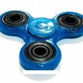 Спиннер для рук игрушка Антистресс Hand spinner синий перламутровый M30
