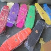 Пенни борд Скейт bt-ysb-0021 пластик. pu колеса 62 19см 1,90кг 8цветов