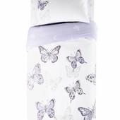 """Постельное белье в детскую кровать """"бабочки"""""""