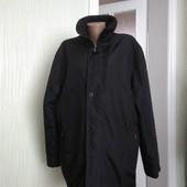 Велика чорна куртка весна-осінь