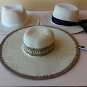 Соломенная шляпка шляпа  Accessoires C&A Германия