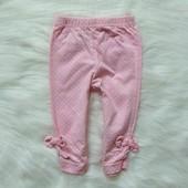Нежные штаники для девочки. Размер 3-6 месяцев. Состояние: новой вещи