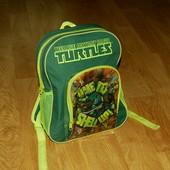 Nickelodeon (34*24см) рюкзак Черепашки Ниндзя