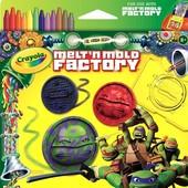 Crayola формочка черепашка ниндзя для фабрики melt n mold teenage mutant ninja turtle crayon