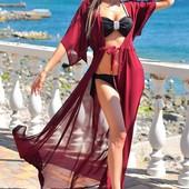 Стильное пляжное платье-парео!!! Огромный выбор цветов! Супер цена!