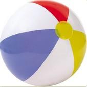 Детский надувной пляжный Мяч Радуга, Intex 59020 (51см.)