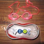 Очки для плавания малышке 3-5 лет