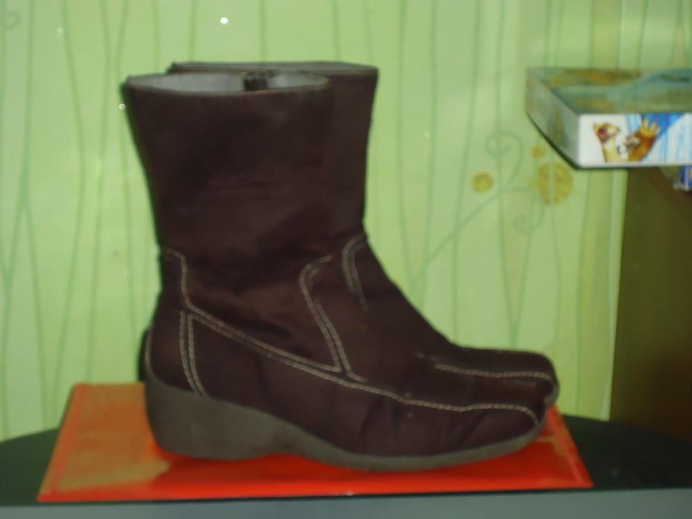 Сапоги сапожки ботинки 23,5-24см фото №1
