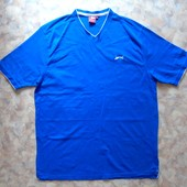 Спортивная футболка 50-52 голубая