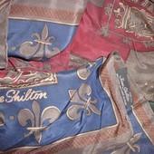 Jane Shilton шикарный платок геральдика 100% шёлк