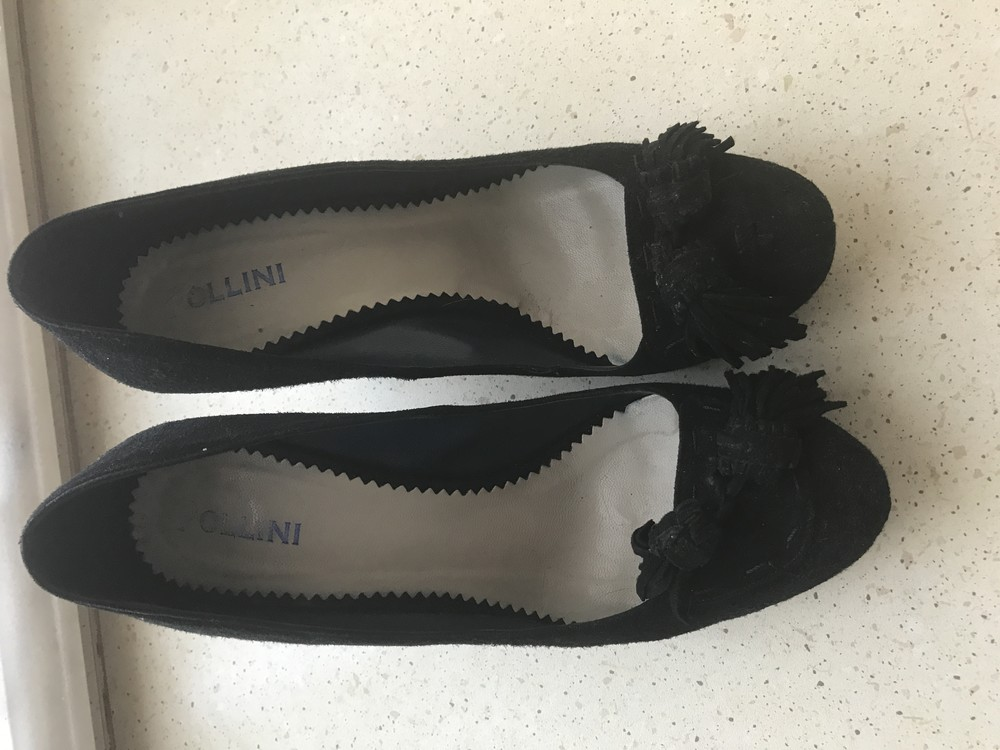 Туфли замшевые фото №1