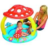 Детский надувной бассейн «Грибочек» Intex 57407 (102х89 см. )