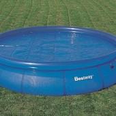 Тент для бассейна с термо-еффектом Bestway 366 см,  58062