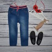 2 - 3 и 3 - 4 года 92 - 98 и 98 - 104 см обалденные фирменные джинсы скины для моднявок