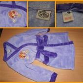 Disney Махровый халат София - Sofia 2-3 года.  Цвет фиолетовый