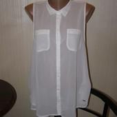 Hollister белая блуза L-размер. Индия
