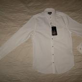 Белая рубашка Zara разм.S (новая)