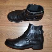 Р. 41 - 27,5 см. Gapristtano Италия. Отличные мужские ботинки-челси, сапоги,  фирменные, оригинал.