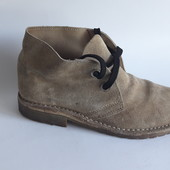 мужские ботинки демисезон р 40 натур замша