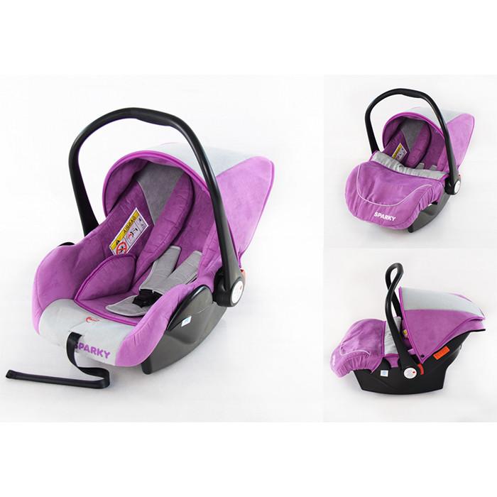 Детское автокресло tilly sparky t-511 purple группа 0+ фото №1