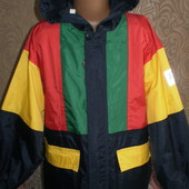 Куртка, дождевик Jeantex (Джинтекс)без подкладки 128-134 рост смотрим замеры.