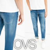 Прямі чоловічі джинси з потертостями s-l від фірми OVS Італія
