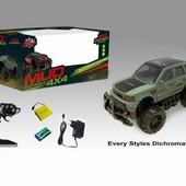 Машина на радио управлении с аккумулятором, 2 вида, свет, в коробке 38,5*18,0*19,0см