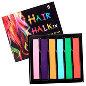 Мелки для волос Hair Chalk 6 шт
