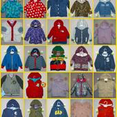 Куртки, жилетки, ветровки от 0-4 лет большой выбор.