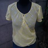 нежная лимонная блузка mexx