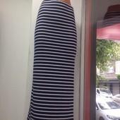 Распродажа Женская длинная юбка в морском стиле Макси Три цвета Распродажа