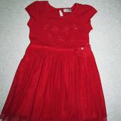 Платье I Love Next 4-5лет, нуждается в ремонте