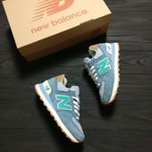 Кроссовки женские New Balance Encap 574 Blue