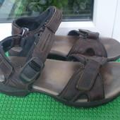 мужские сандали босоножки Clarks  Active Air  р. 8 G ,27.5 см кожа ,