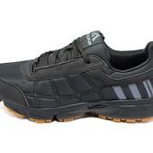 Кроссовки мужские Supo Energy Sport 1730 черные (реплика)