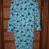 Пижама флисовая, размер М, рост до 165 см