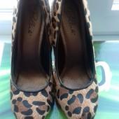 Туфли леопард 38 рр
