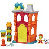 Новый игровой набор пластилина Play-Doh Town Firehouse Пожарная часть