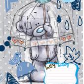 25шт Тетрадь школьная 18л. # 794604 Me-To-You blue 25шт.