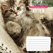 25шт Тетрадь школьная 12л. # 794519 Kittens Funny Moments 25шт