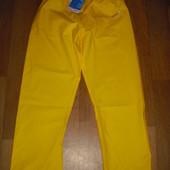 Мужские непромокаемые прорезиненные штаны размер L