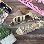 Модные босоножки Asos с оригинальной шнуровкой  SH2691