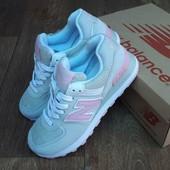 Кроссовки женские New Balance Encap 574 Gray pink 36р